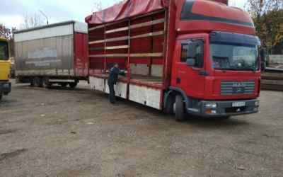 Аренда грузовика MAN с прицепом - Ульяновск, заказать или взять в аренду