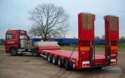 Перевозка негабаритных грузов низкорамными полуприцепами по РФ - Ульяновск, заказать или взять в аренду