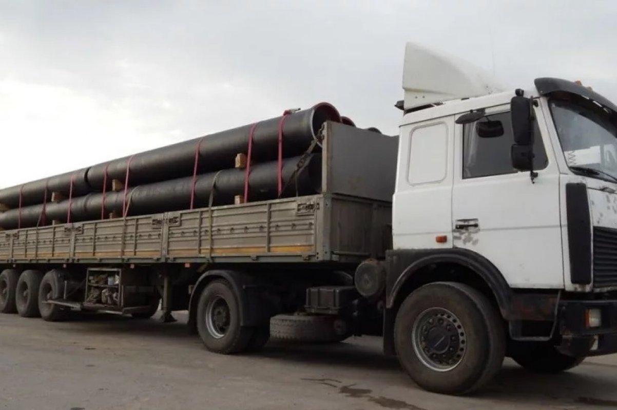 Аренда длинномера для перевозки труб, стройматериалов - Ульяновск, заказать или взять в аренду